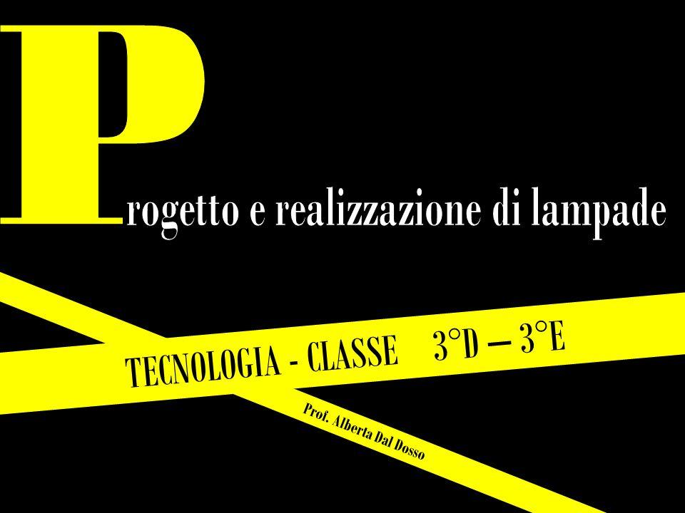 Prof. Alberta Dal Dosso TECNOLOGIA - CLASSE 3°D – 3°E