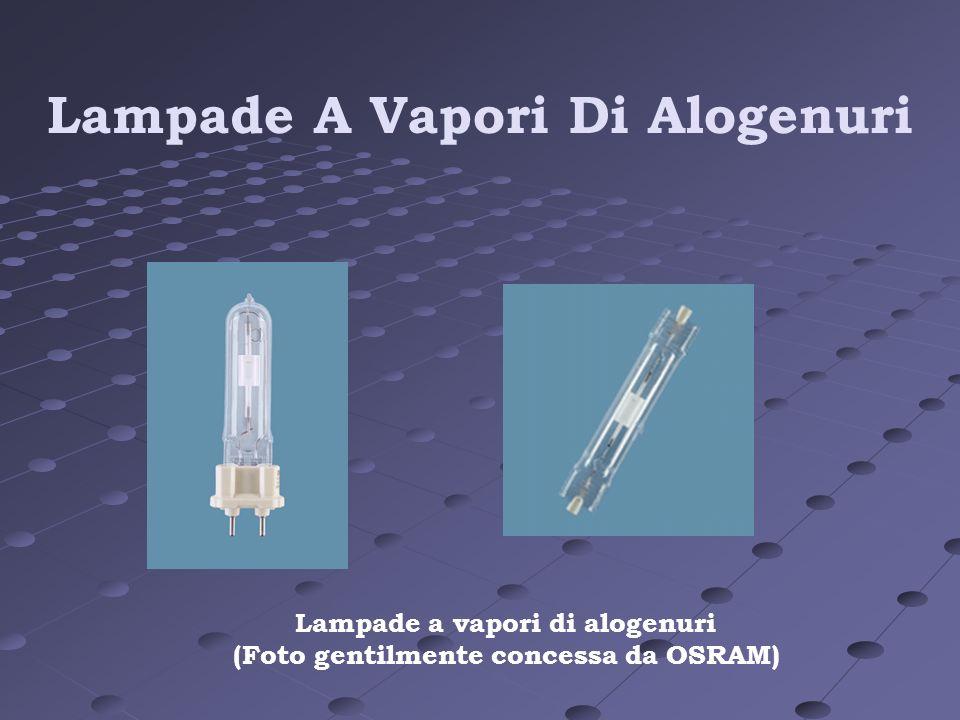 Lampade A Vapori Di Alogenuri Lampade a vapori di alogenuri (Foto gentilmente concessa da OSRAM)