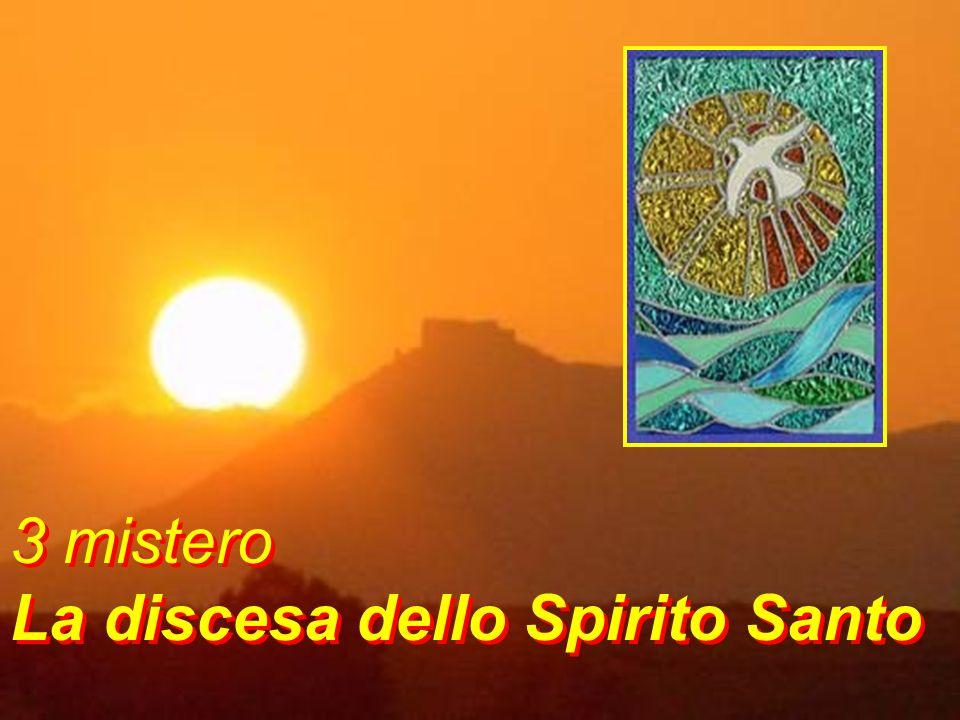 Spirito del Padre, vieni a vivere in noi; alleluia canteremo per le strade della vita Vieni a darci la pace, pace che ci libera Spirito del Padre, vie