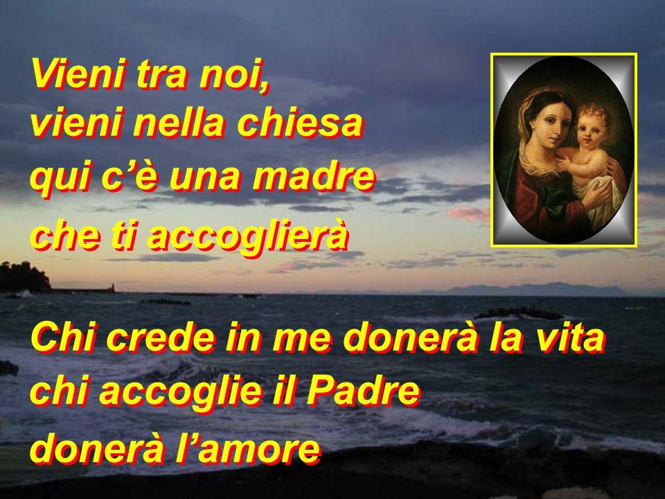 chi è mia madre? chi è mio fratello? chi custodisce ogni mia parola Chi crede in me donerà la vita chi accoglie il Padre donerà lamore chi è mia madre