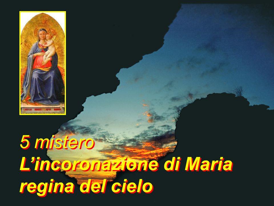 Maria, tu che ora vivi nella gloria insieme al tuo Signor aiutaci ad accogliere il Figlio tuo che ora vive in noi Maria, tu che ora vivi nella gloria