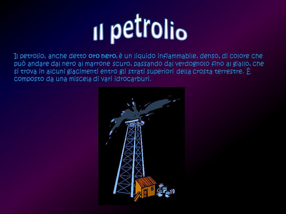 Il petrolio accompagna la storia dell uomo da secoli.