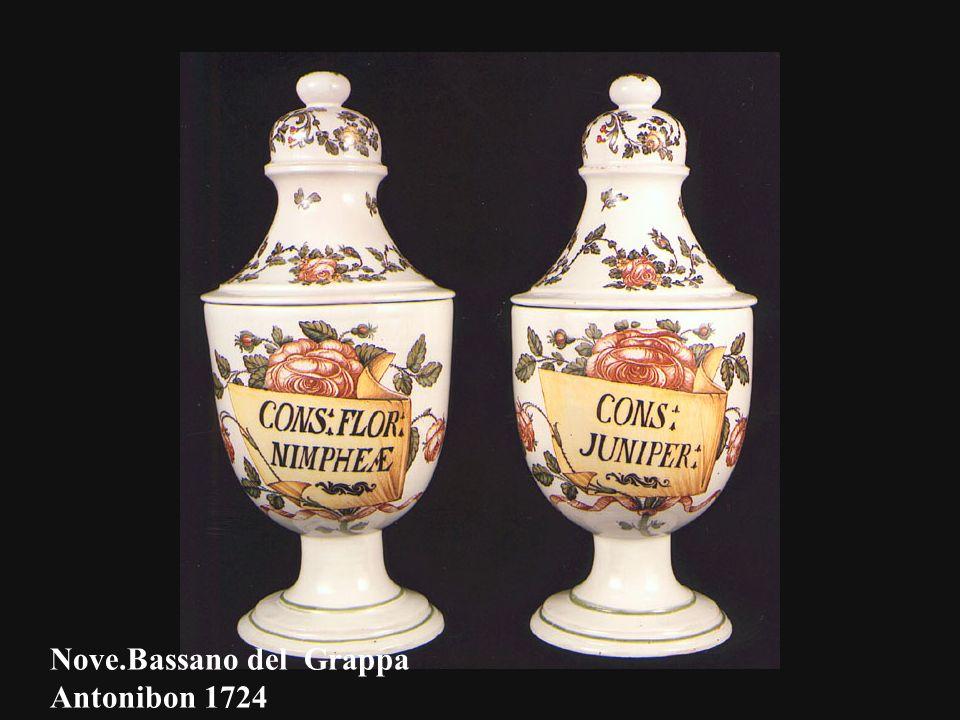 Nove.Bassano del Grappa Antonibon 1724