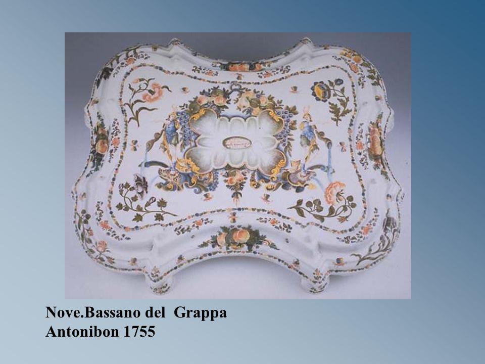 Nove.Bassano del Grappa Antonibon 1755