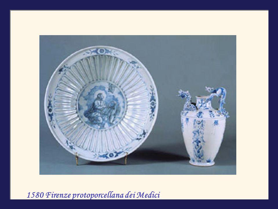 1580 Firenze protoporcellana dei Medici