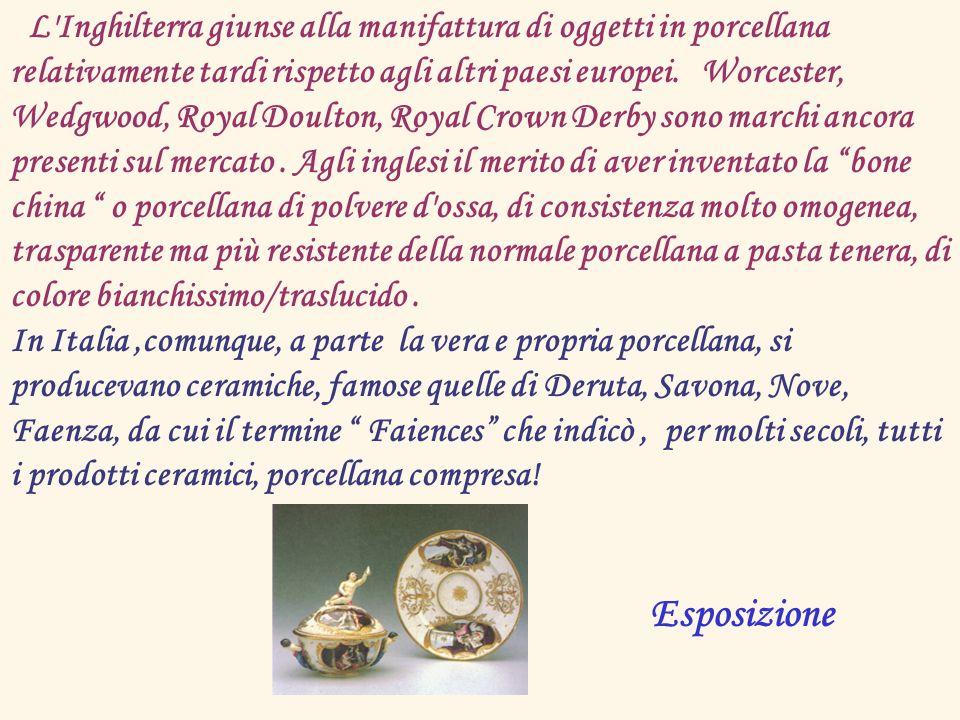La Società Ceramica Richard, fondata nel 1873, gestiva già due stabilimenti: quello di S.