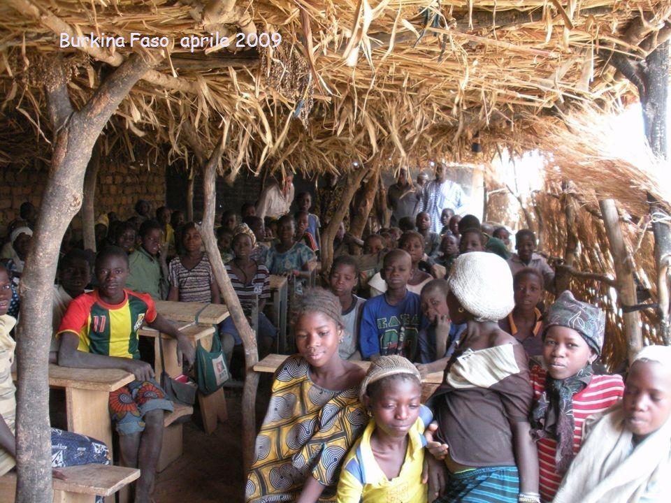 Burkina Faso aprile 2009