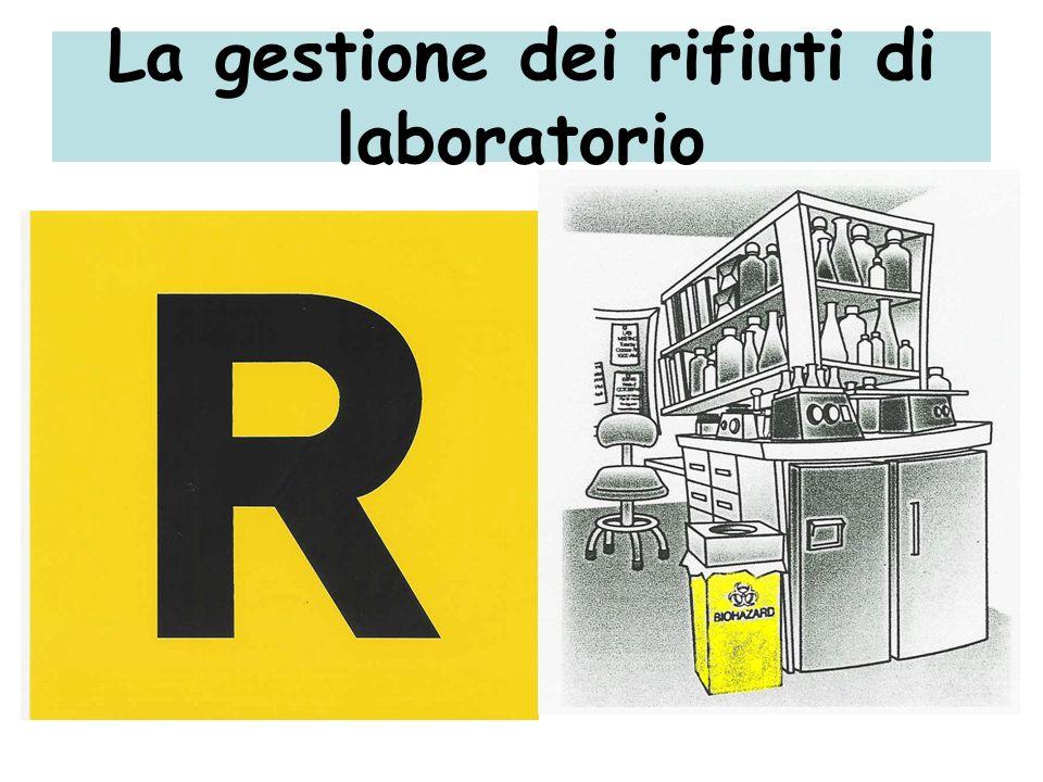 La gestione dei rifiuti di laboratorio