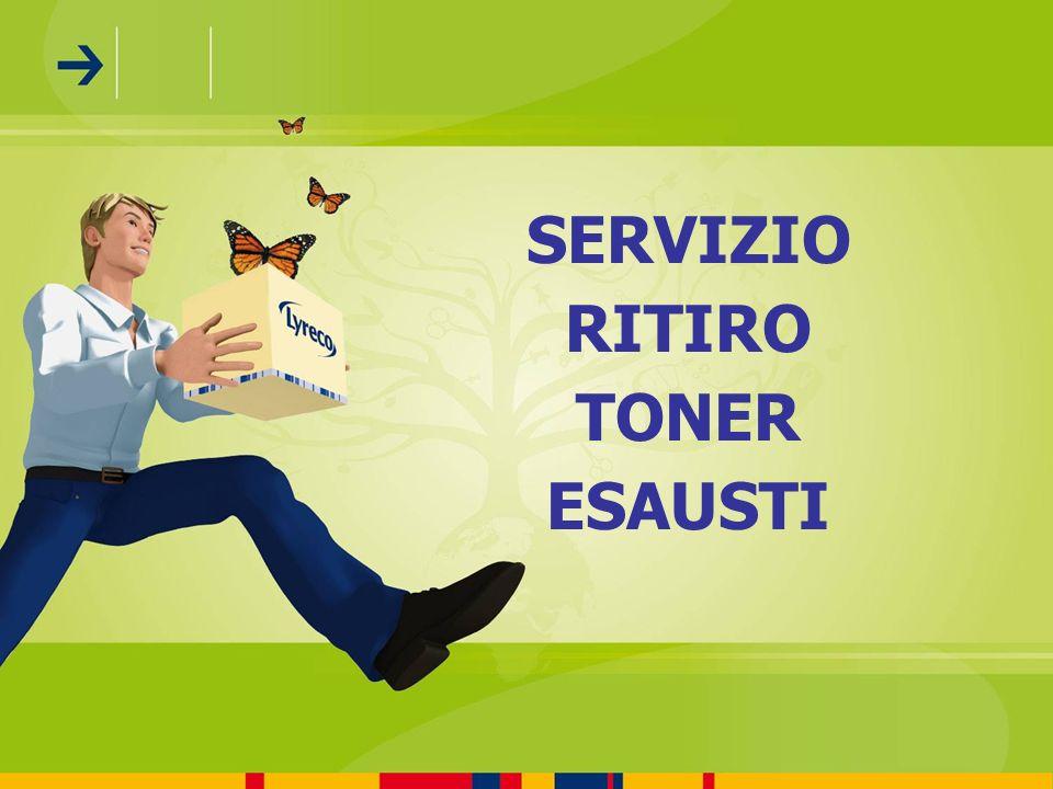 SERVIZIO RITIRO TONER ESAUSTI