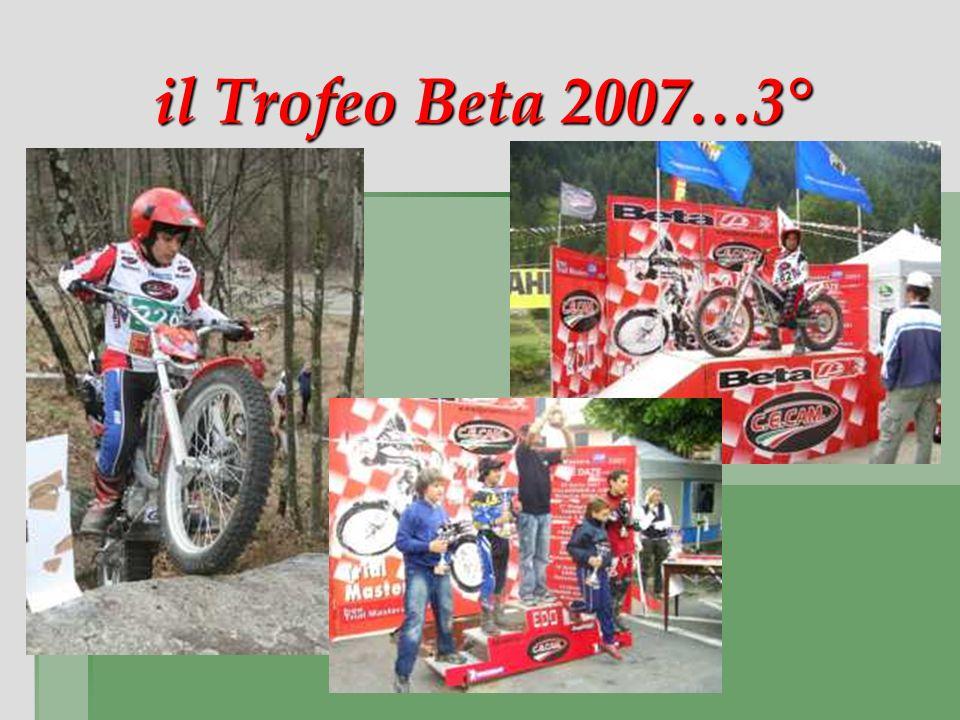 il Trofeo Beta 2007…3°