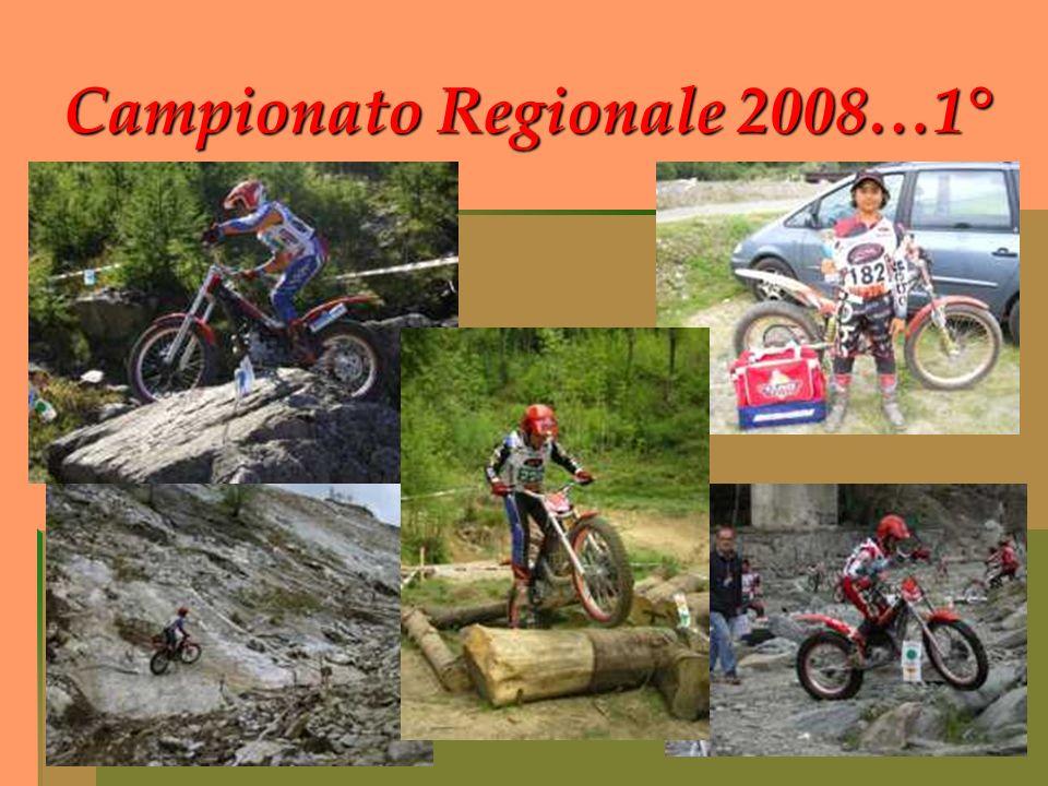 Campionato Regionale 2008…1°