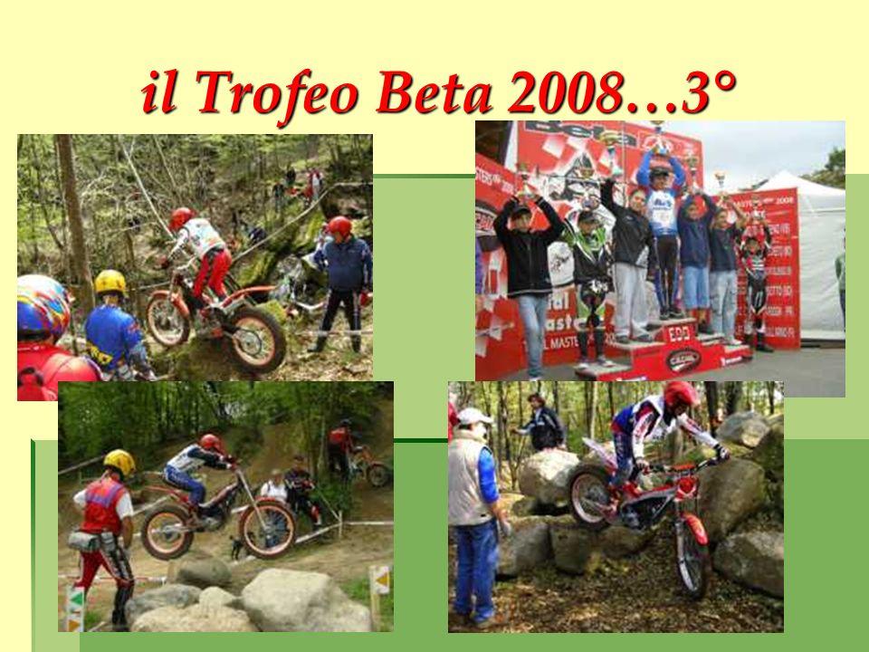 il Trofeo Beta 2008…3°