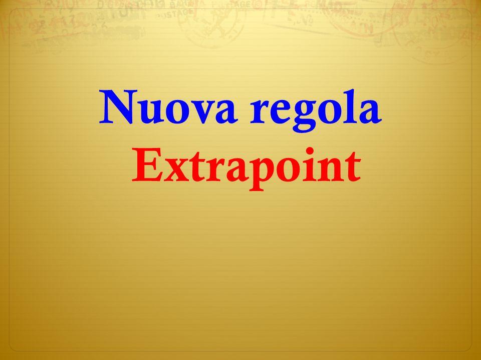 Nuova regola Extrapoint