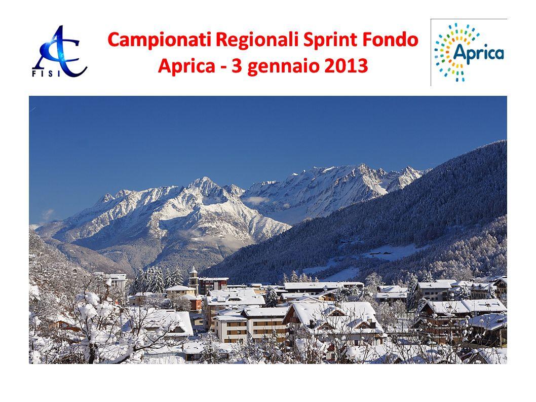 Campionati Regionali Sprint Fondo Aprica - 3 gennaio 2013