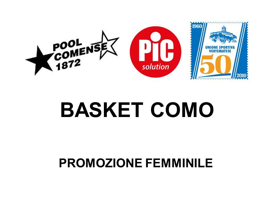 BASKET COMO PROMOZIONE FEMMINILE