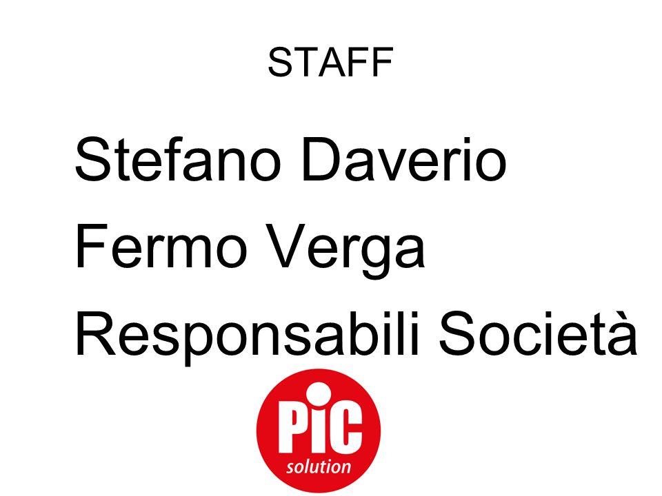 STAFF Stefano Daverio Fermo Verga Responsabili Società