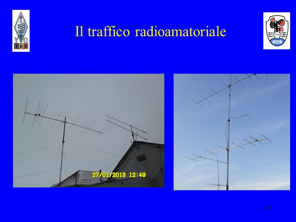 16 Il traffico radioamatoriale