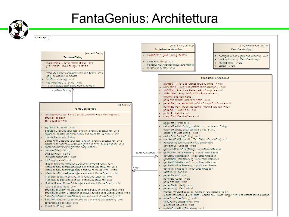 FantaGenius: Architettura
