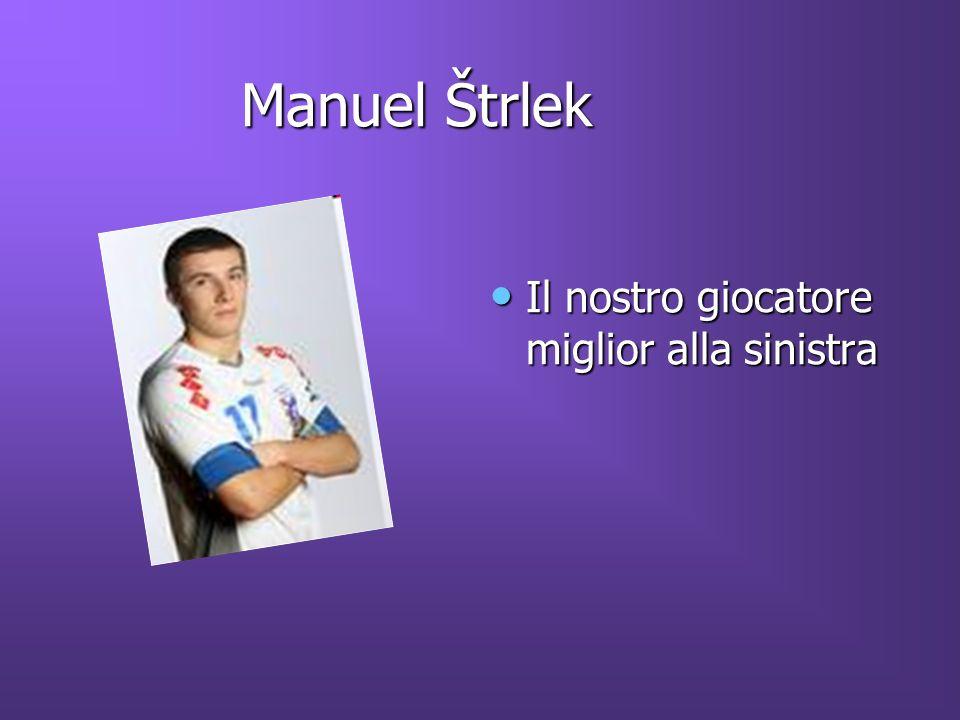 Manuel Štrlek Manuel Štrlek Il nostro giocatore miglior alla sinistra Il nostro giocatore miglior alla sinistra