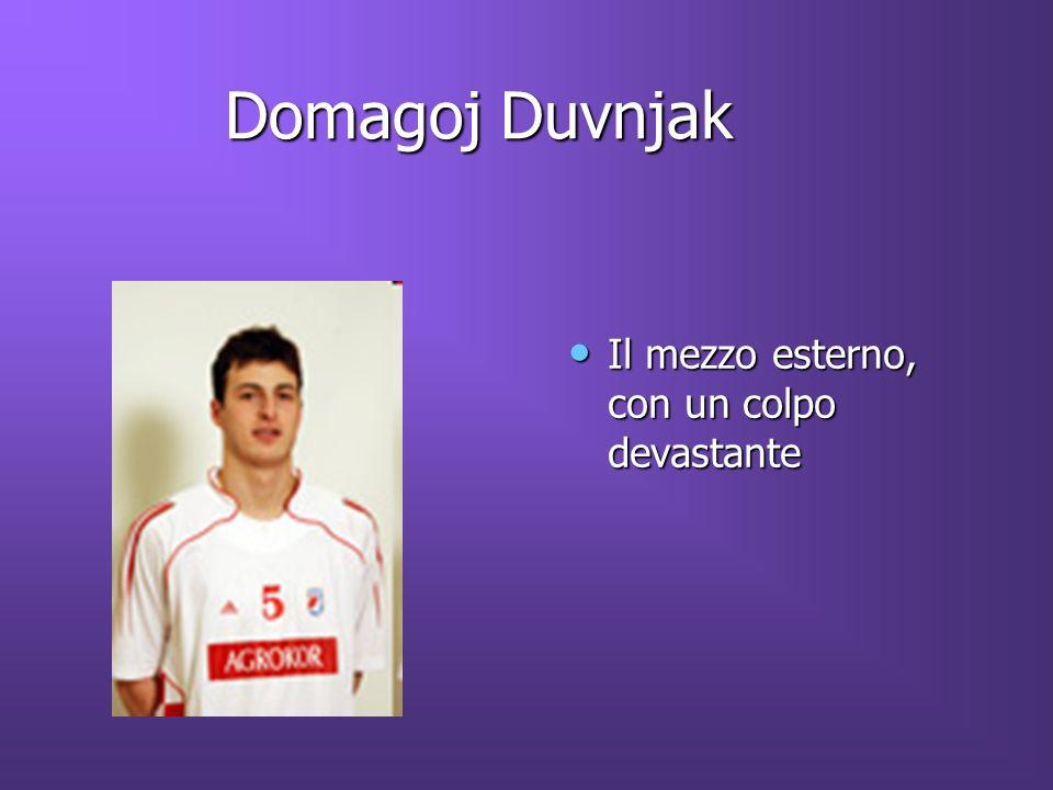Domagoj Duvnjak Domagoj Duvnjak Il mezzo esterno, con un colpo devastante Il mezzo esterno, con un colpo devastante