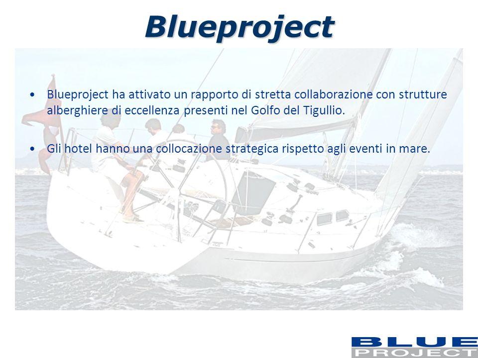 Blueproject Blueproject ha attivato un rapporto di stretta collaborazione con strutture alberghiere di eccellenza presenti nel Golfo del Tigullio. Gli