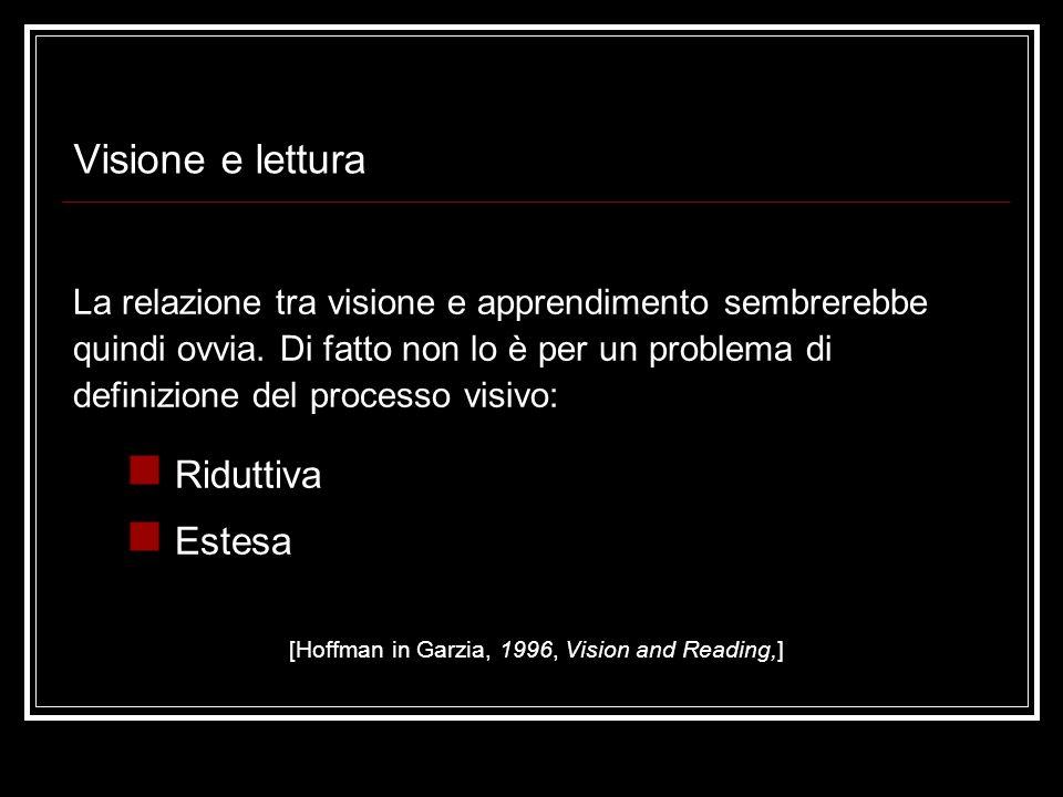 2. Area dellefficienza visiva Developmental Eye Movement Test [Richman, Garzia, 1987]