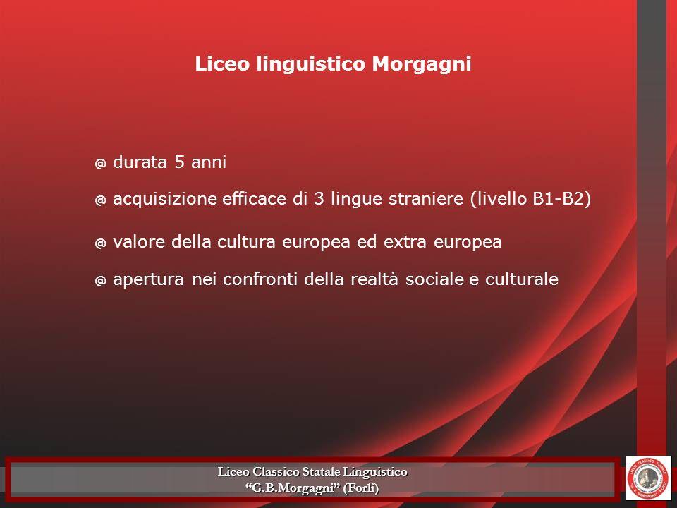 Liceo linguistico Morgagni Liceo Classico Statale Linguistico G.B.Morgagni (Forlì)