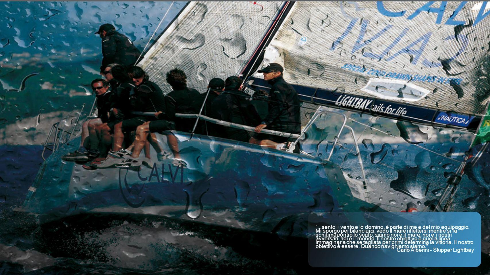 Lightbay Sailing Team Lightbay Sailing Team è un team velico composto da 16 nomi di primordine del panorama agonistico internazionale e consolidata esperienza.