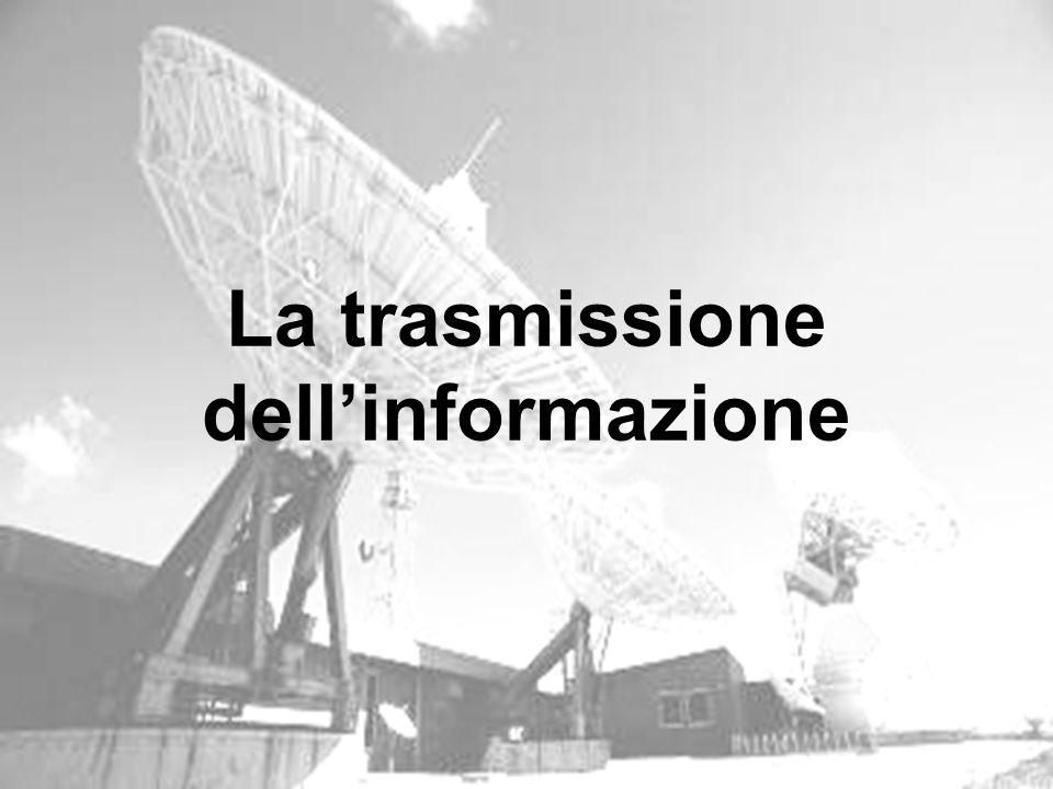 Fondamenti di informatica - Parte 3 La trasmissione dellinformazione