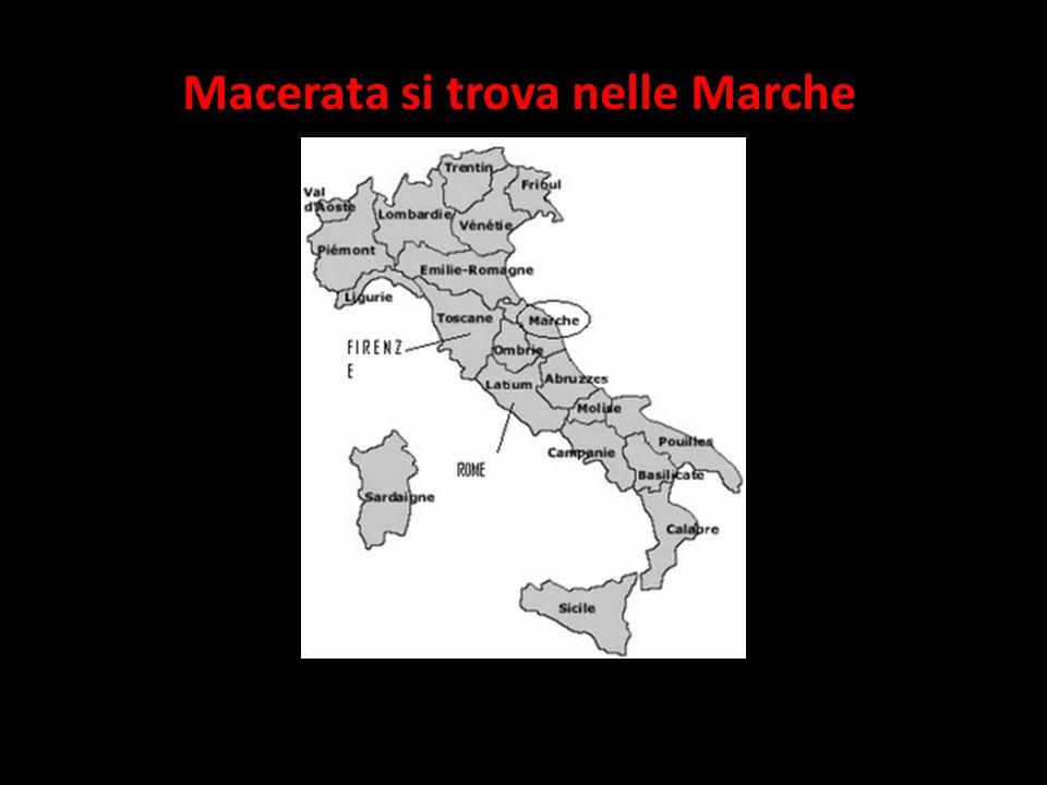 Macerata si trova nelle Marche