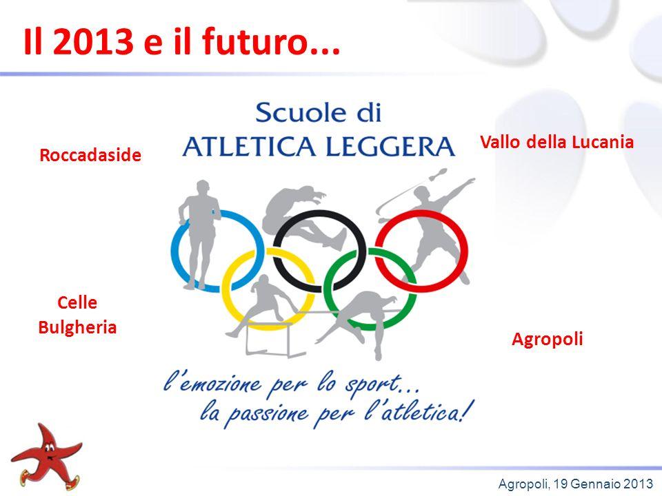 Agropoli, 19 Gennaio 2013 Il 2013 e il futuro...