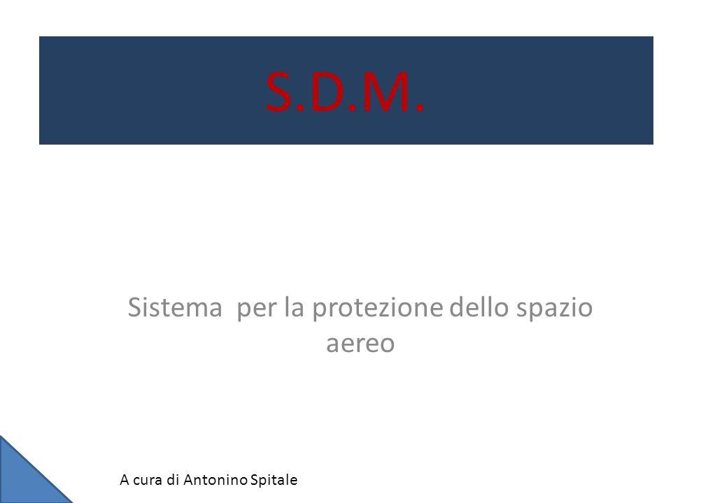 S.D.M. Sistema per la protezione dello spazio aereo A cura di Antonino Spitale