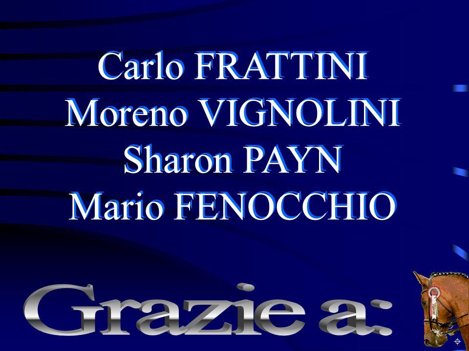 Carlo FRATTINI Moreno VIGNOLINI Sharon PAYN Mario FENOCCHIO Carlo FRATTINI Moreno VIGNOLINI Sharon PAYN Mario FENOCCHIO