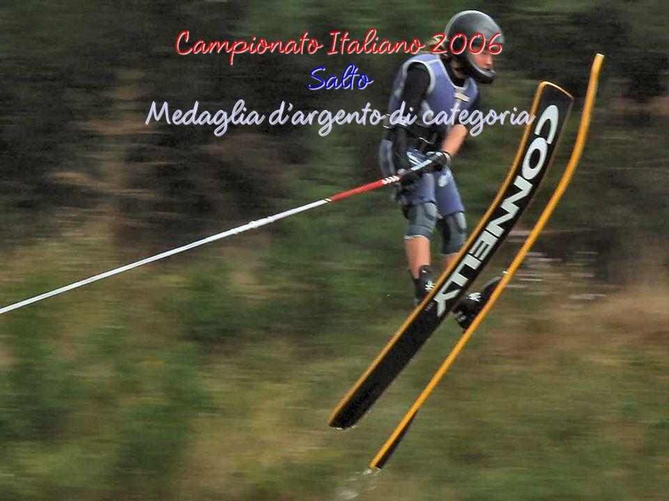 Campionato Italiano 2006 Slalom Medaglia doro di categoria
