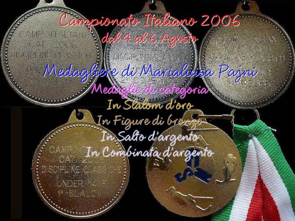 Campionato Italiano 2006 Figure Medaglia di bronzo di categoria