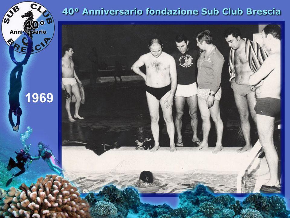 1969 IV Corso Sommozzatori Piscina Viale Piave