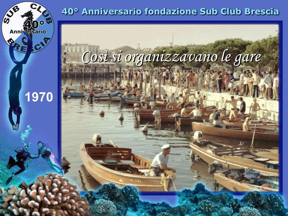 1970 1° Frassi Giorgio Campionato Lombardo Predore 1° Sub Club Brescia