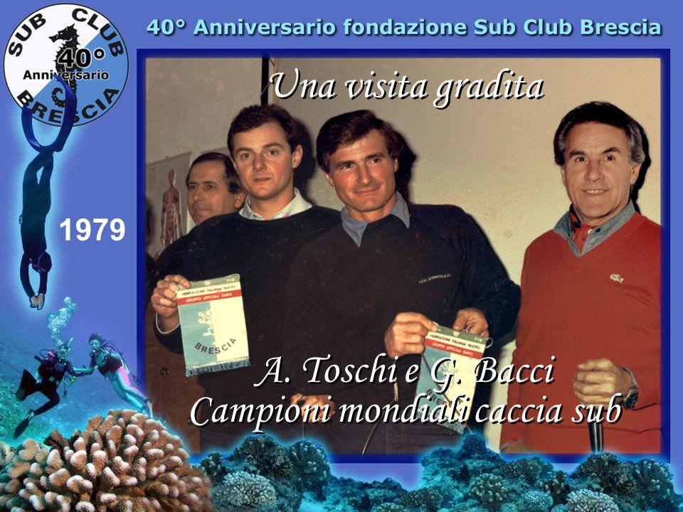 1973 Premiazione gara di pesca Grassi Valerio Frassi Giorgio Palazzo Roberto Campi Abramo