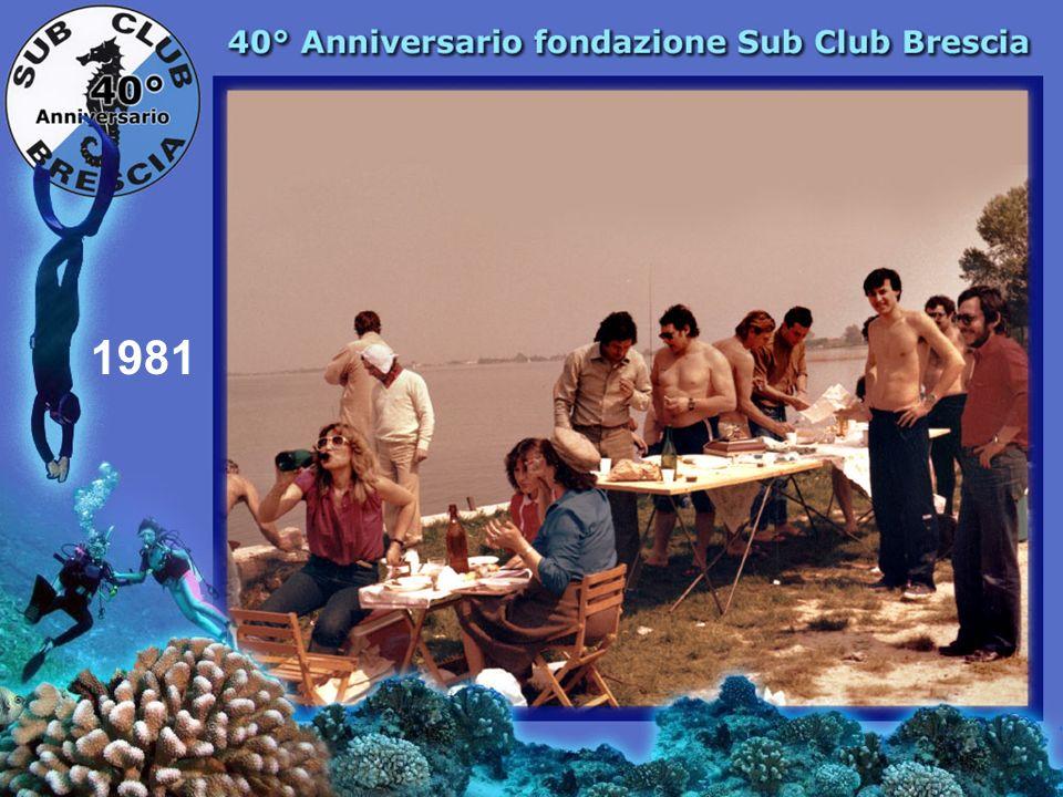 1979 Una visita gradita A. Toschi e G. Bacci Campioni mondiali caccia sub