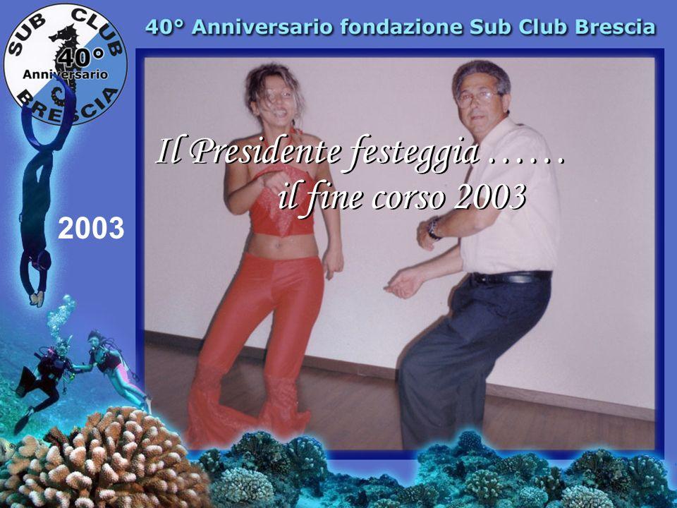 2003 Festeggiamenti fine corso 2003