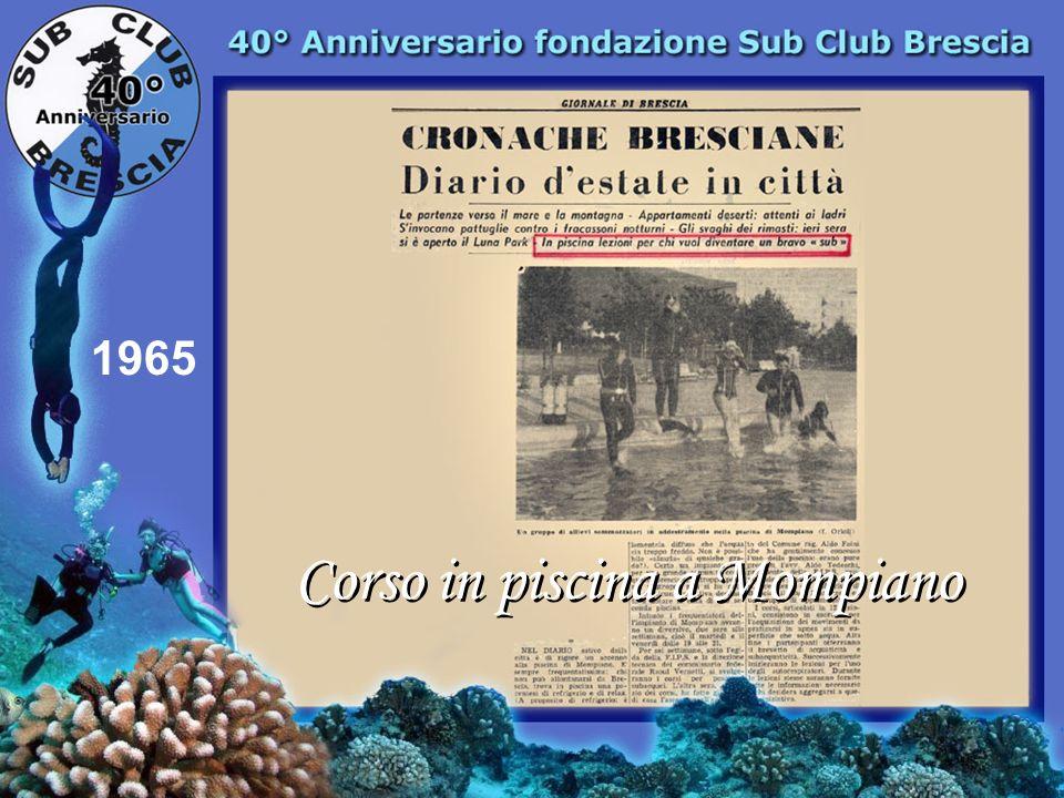 1965 Ecco i magnifici 7 Taglietti Franco Taglietti Gianni Grassi Valerio Conti Bruno Casnigo Severino Pielli Gianni Fabretti Franco