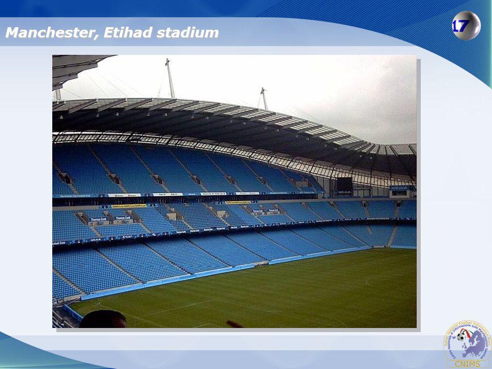 Manchester, Etihad stadium