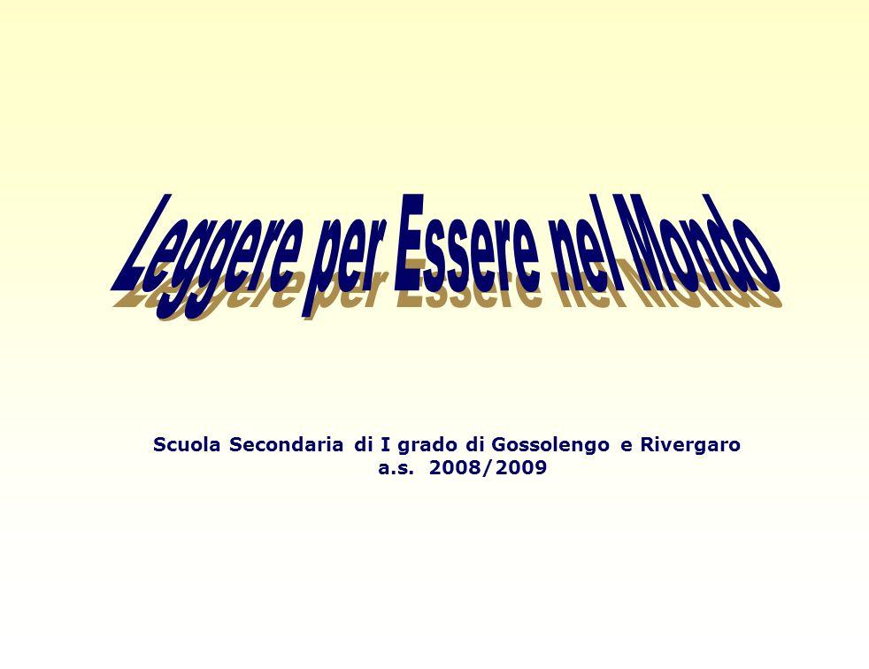 Scuola Secondaria di I grado di Gossolengo e Rivergaro a.s. 2008/2009