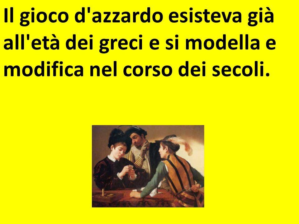 Del gioco dazzardo si parla anche nella letteratura Il giocatore di Dostoevskij si chiedeva…..