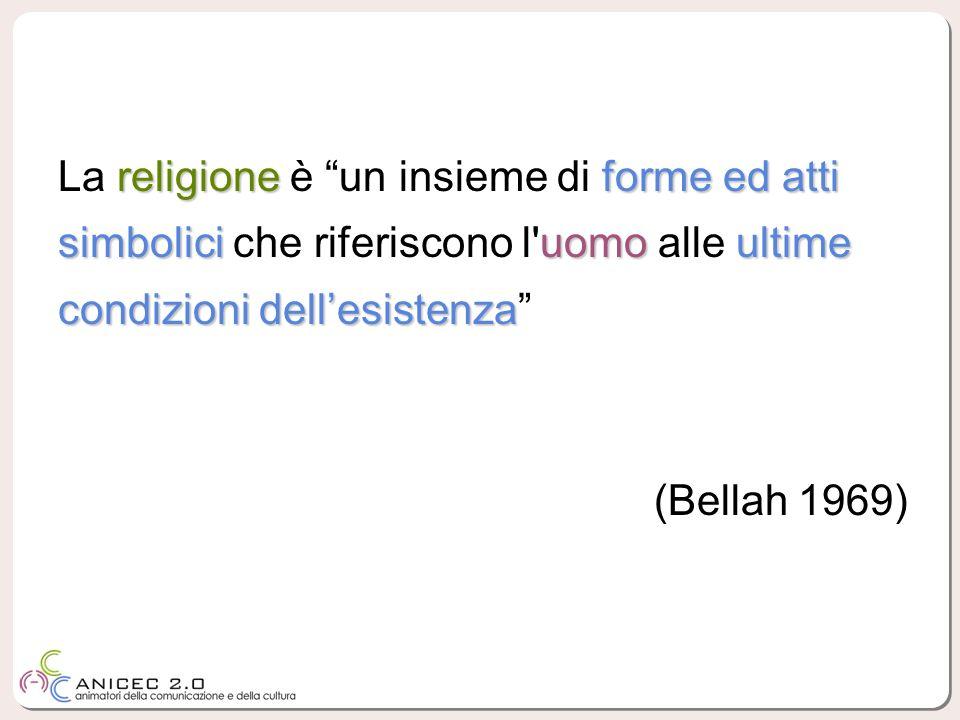 religioneforme ed atti simbolici uomo ultime condizioni dellesistenza La religione è un insieme di forme ed atti simbolici che riferiscono l'uomo alle