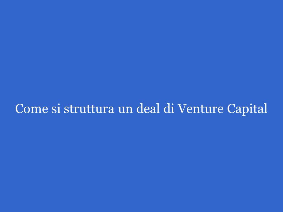 Come si struttura un deal di Venture Capital