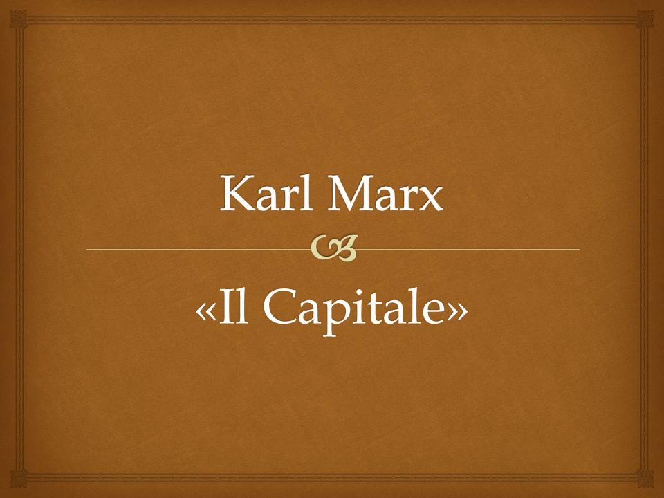 Karl Marx (1818-1883) è stato un filosofo, economista, storico, sociologo e giornalista tedesco.