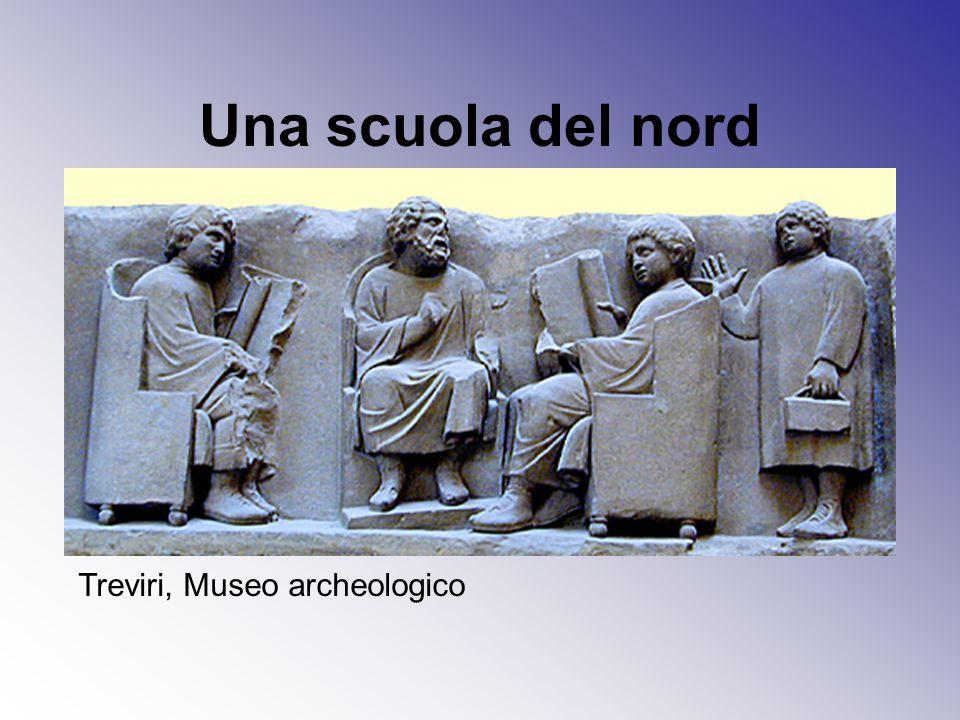 Una scuola del nord Treviri, Museo archeologico
