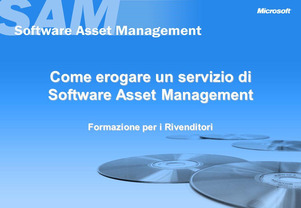 Come erogare un servizio di Software Asset Management Formazione per i Rivenditori
