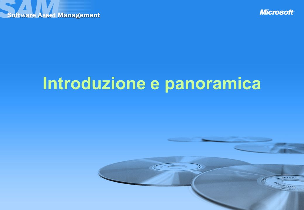 Introduzione e panoramica